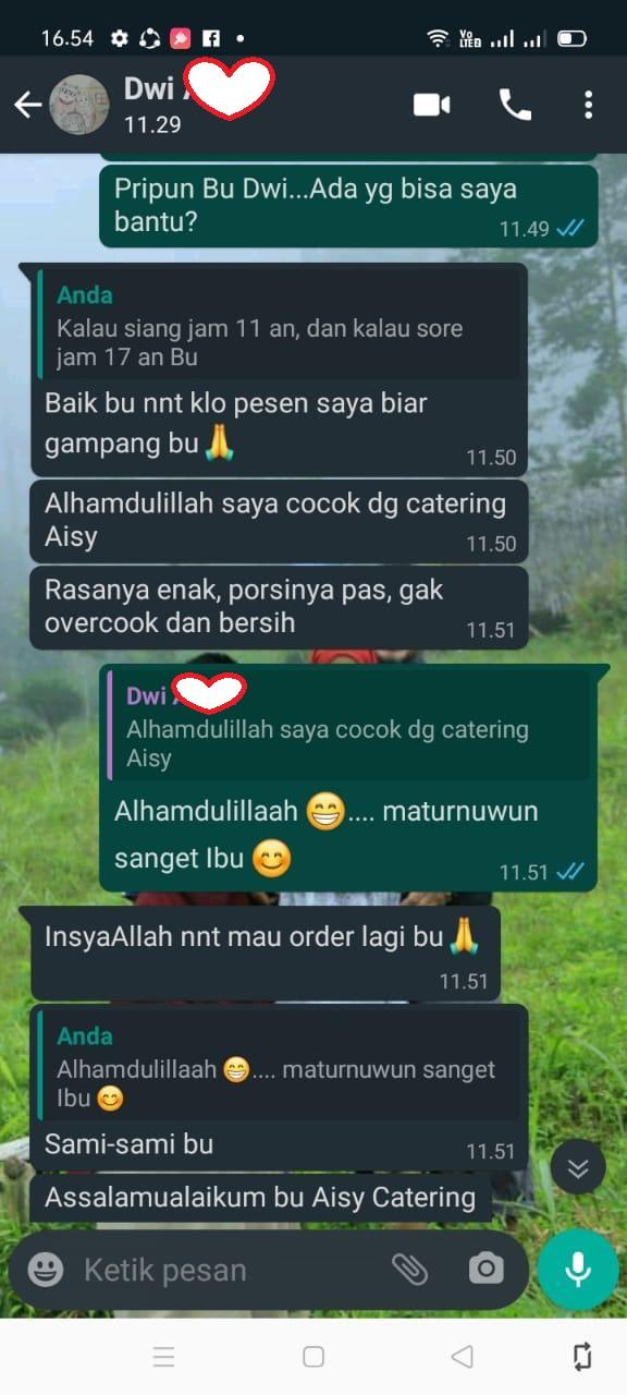 Catering Harian Banyumanik Semarang