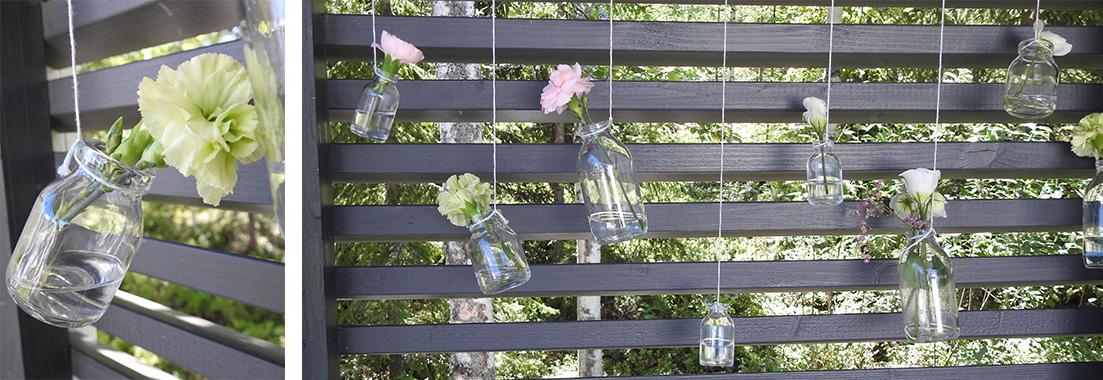 Kukkasia seinälle