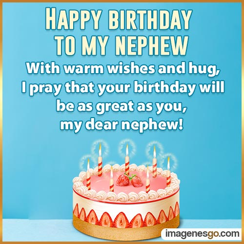 Happy Birthday Wishes Nephew