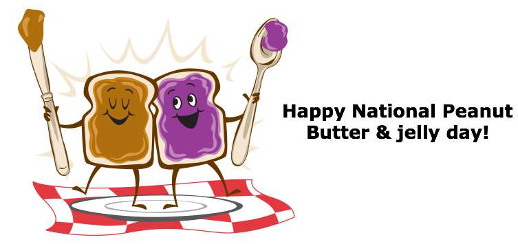 National Peanut Butter and Jelly Day Wishes Photos