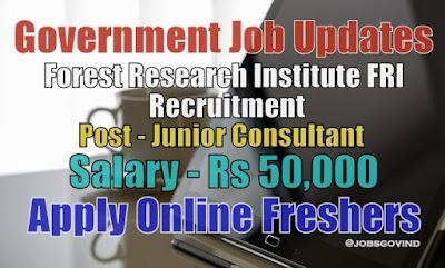 FRI Recruitment 2020