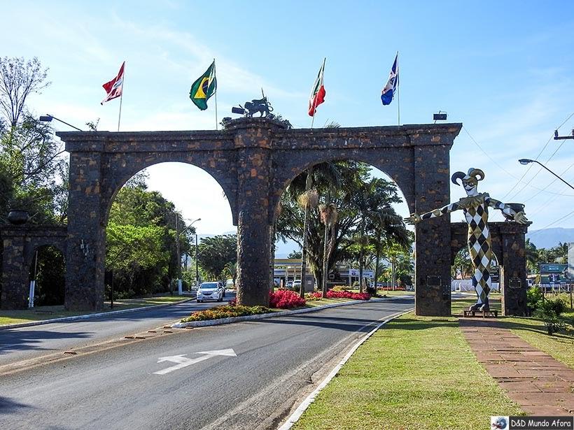 O que fazer em Nova Veneza, Santa Catarina - Pórtico de Nova Veneza