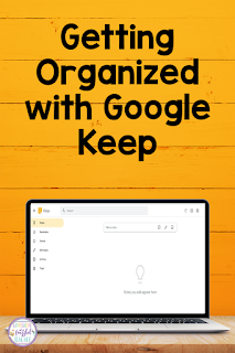 Google Keep is an amazing FREE tool that is perfect to use in the classroom as well as for personal reasons. This blog post shares how to use Google Keep for both these uses. Now is the time to get organized personally and professionally! #teachers #technologytips {Kindergarten, First, Second, Third, Fourth, and Fifth Grade Teachers}