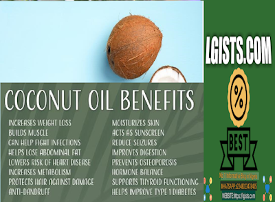 Benefit of coconut oil on skin