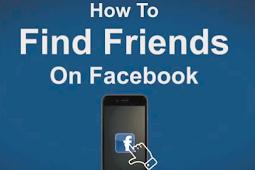 Find Friends Facebook