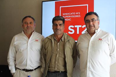 Supervisores de Collahuasi preparan próximas elecciones de directiva