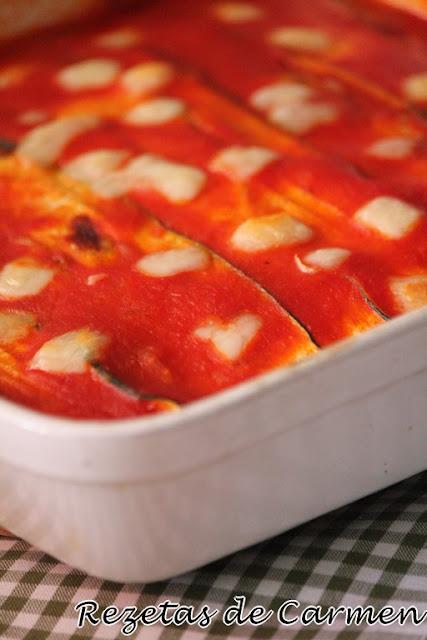 Parmigiana de calabacín