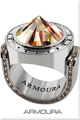 ♦Armoura exclusive Zultanite Istanbul platinium ring with baguette cut brown diamonds #jewelry #armoura #brilliantluxury