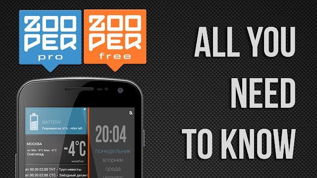 zooper widget pro تنزيل