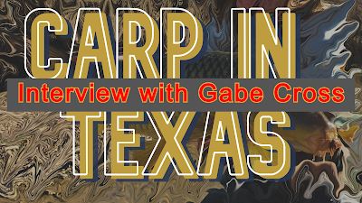 Texas Freshwater Fly Fishing, TFFF, Fly Fishing Texas, Texas Fly Fishing, Carp of the Fly, Carp Fishing Texas, Texas Carp Fishing, Fly Fishing For Carp, Gabe Cross, Gabe Cross Fly Fishing, Carp in Texas Part 4, Interview with Gabe Cross