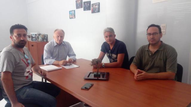 Συνάντηση Ανδριανού με το Σωματείο Υπαλλήλων Εξωτερικής Φρουράς του Καταστήματος Κράτησης Ναυπλίου