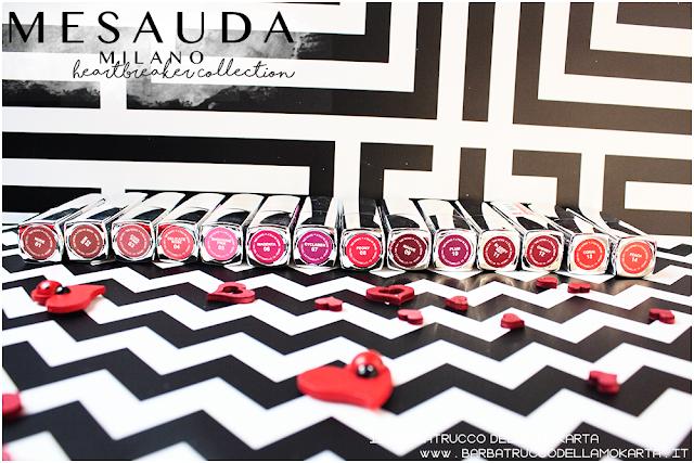 makeup review heartbreaker lipstick, rossetto matt , matt lipstick , 4ver lips , matite labbra, mesauda