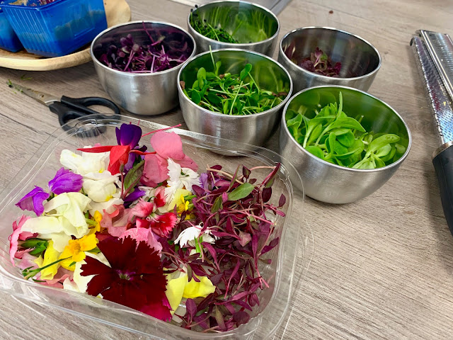 Food Sorcery Edible Flowers and Micro-Herbs