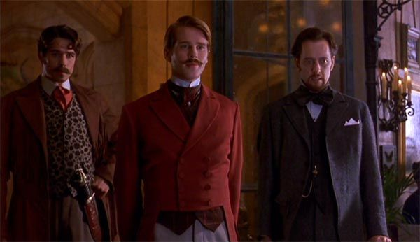 Bill Campbell, Cary Elwes and Richard E. Grant
