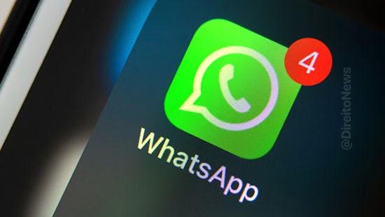 divulgar conversa whatsapp autorizacao indenizar stj