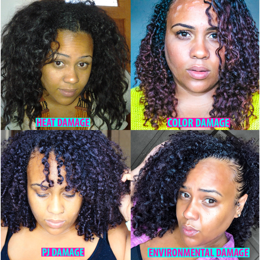 Natural Hair 101 How To Fix Damaged Curls