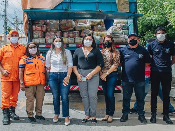 Governo Municipal inicia distribuição de 600 cestas básicas