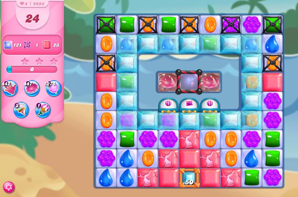 Candy Crush Saga level 9888
