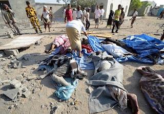 Υεμένη: Τουλάχιστον 136 νεκροί από αεροπορικά πλήγματα