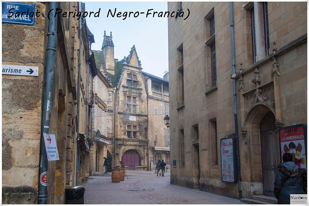 Sarlat, capital del Perigord Negro en Francia