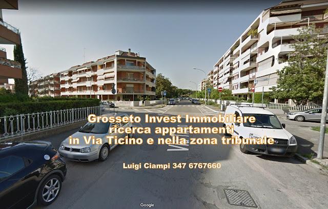 Appartamenti e case in vendita a Grosseto nella zona del tribunale,