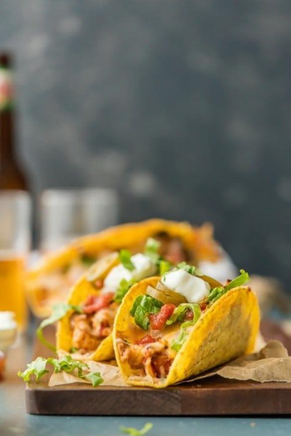Baked Chicken Tacos Recipe