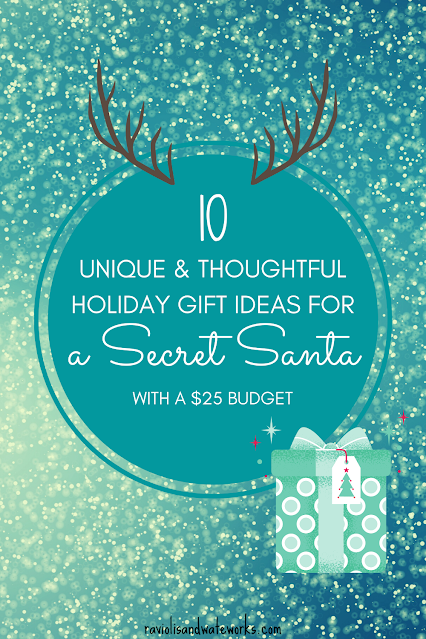 ten gender neutral secret santa gift ideas that are under $25