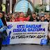 200 se manifiestan en apoyo a los condenados por la agresión a dos guardias civiles en Alsasua