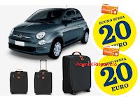 Logo Conad ''Cambia&Vinci'' : 1.500 buoni spesa, 4 Fiat 500 e 500 Trolley
