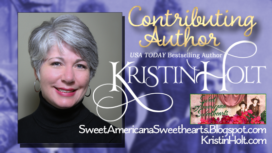 Kristin Holt | Contributing Author to Sweet Americana Sweethearts; Kristin Holt is the USA Today Bestselling Author of Sweet Romance set in the Victorian American West.