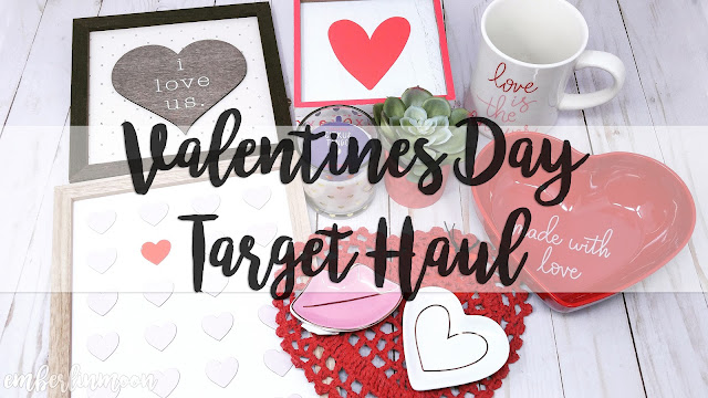 Valentine's Day Target Shopping Haul