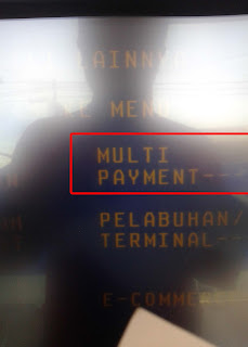 pilih menu multy payment