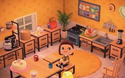 dapur kamar acnh upgrade rumah