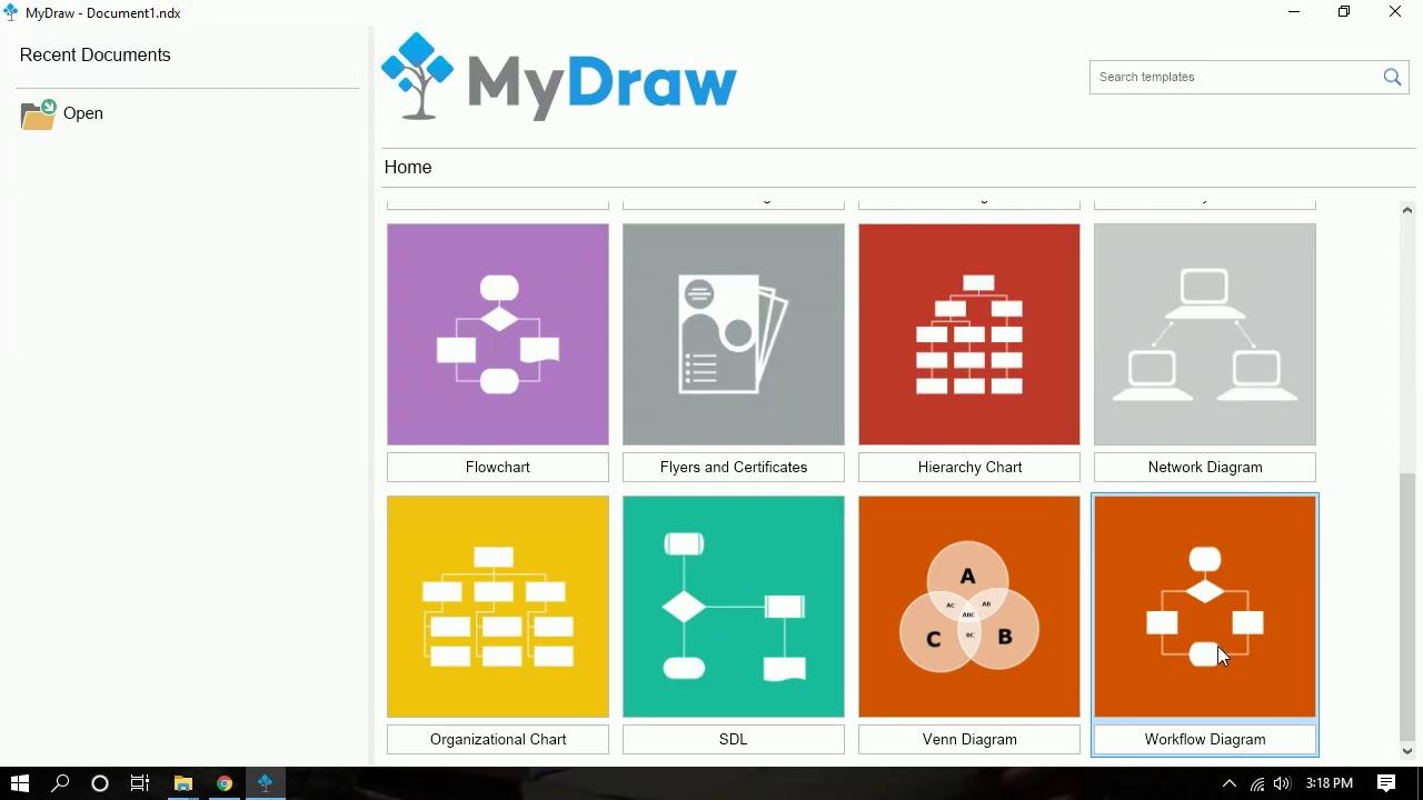 تحميل النسخة الكاملة من برنامج MyDraw 4.1.1