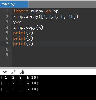 CBSE Class 11 - Informatics Practices - Python Basics - Numpy Arrays (Part-2) - Question and Answers (#CBSEclass11Python)(#cbse)(#eduvictors)