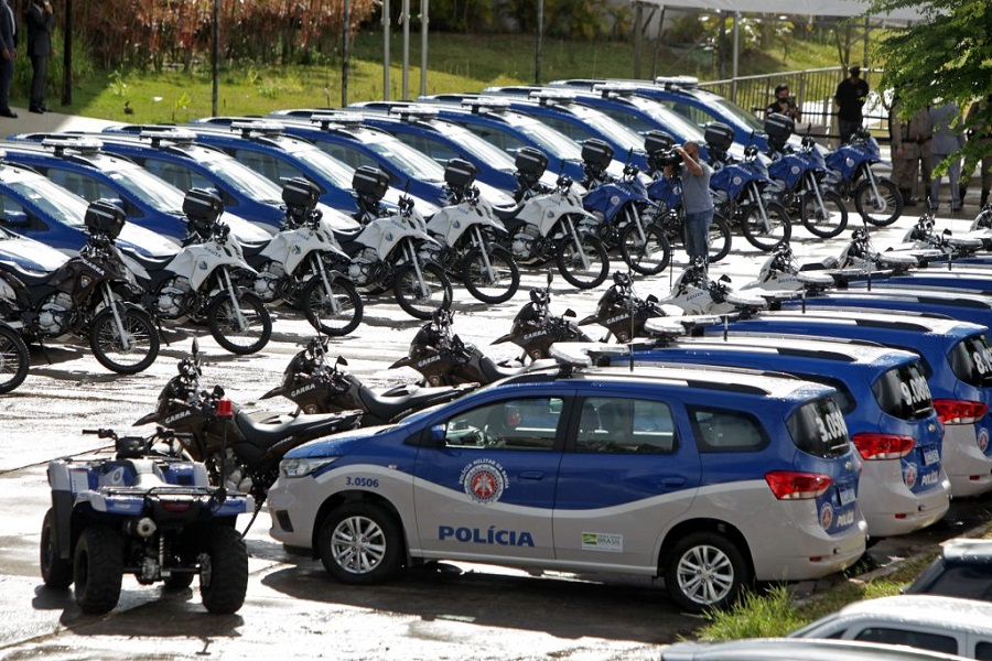 Governo da Bahia entrega mais 165 novas viaturas à PM; Juazeiro também é contemplada