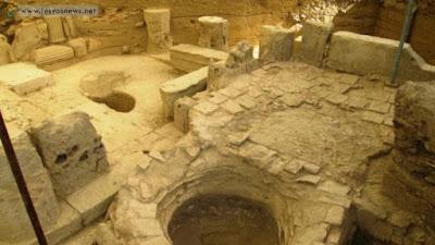 Ελαιουργείο των παλαιοχριστιανικών χρόνων στη Μυτιλήνη
