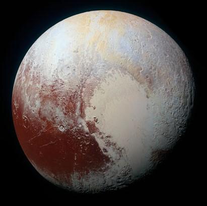 explorando los mundos del sistema solar en imagenes - pluton -