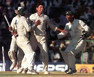India vs Pakistan 1st Test 1999 Highlights
