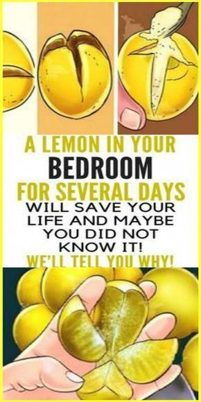 A Lemon In Your Bedroom For Several Days Will Save Your Life and Maybe You Did Not Know It! We'll Tell You Why!
