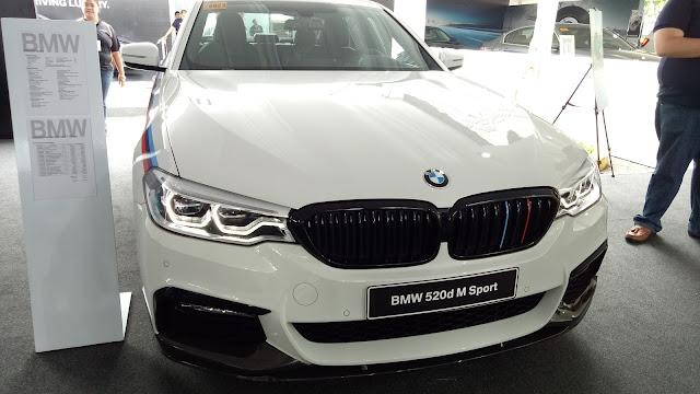 BMW 520d M Sport at the BMW Expo 2017 BMW XPO   Benteuno.com