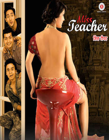 Poster Of Miss Teacher 2016 Hindi 720p HDRip x264 Free Download Watch Online Worldfree4u