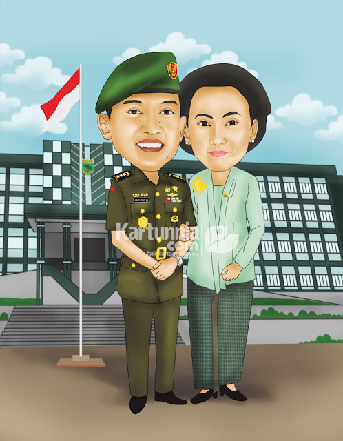 Karikatur TNI Papua Barat