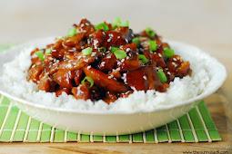 Slow Cooker Asian Sesame Chicken #dinnerrecipe #food #amazingrecipe
