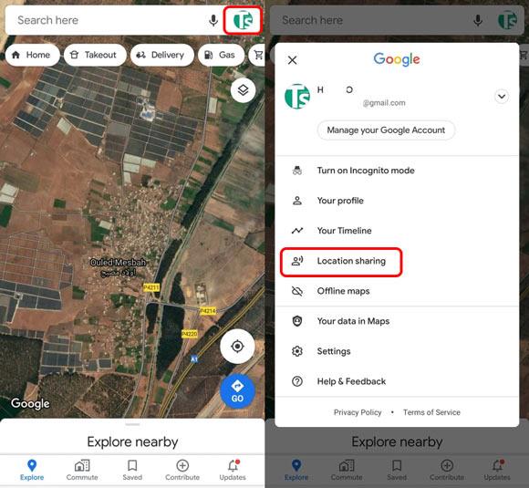 مشاركة موقعك في خرائط Google