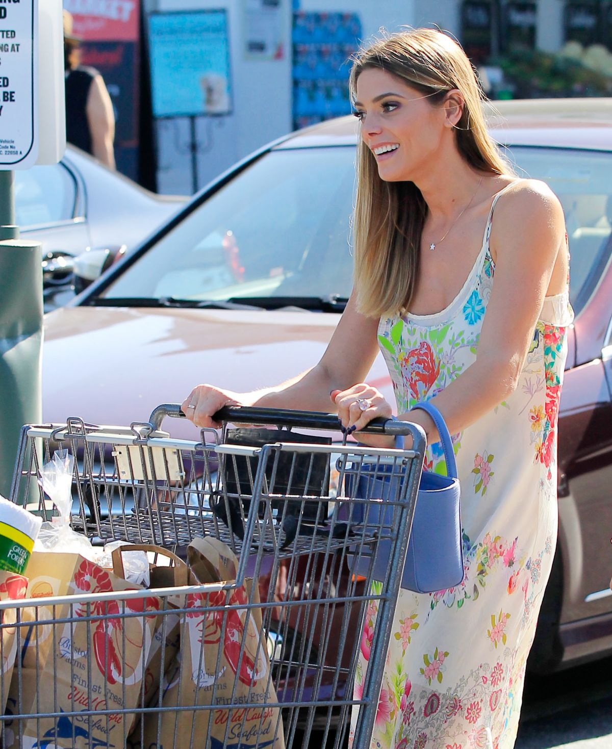 HQ Photos of Ashley Greene Out Shopping In West Hollywood