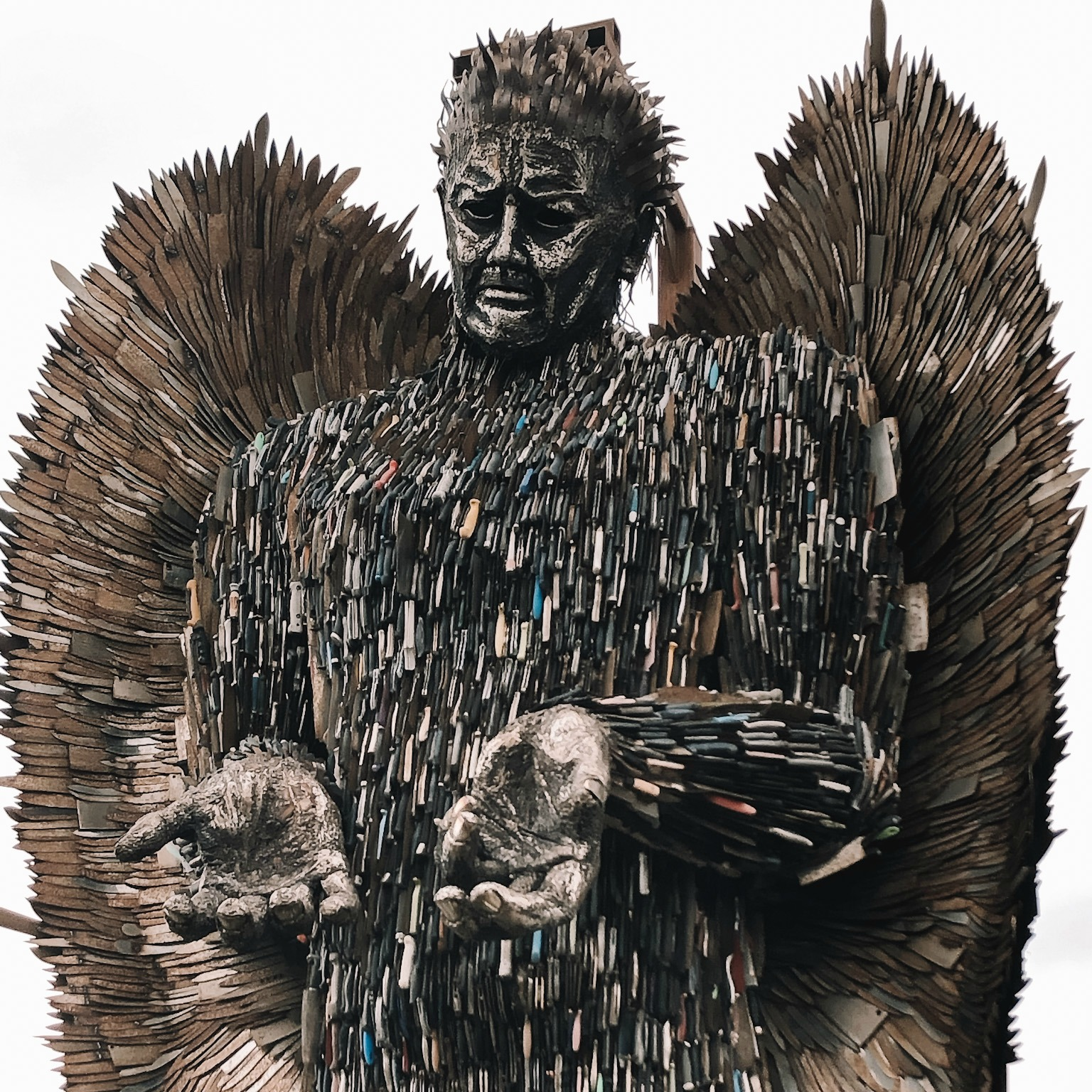My February Days - Knife Angel