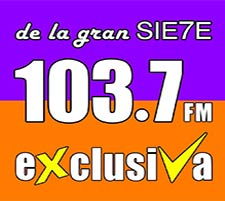 Radio Exclusiva 103.7 FM en VIVO