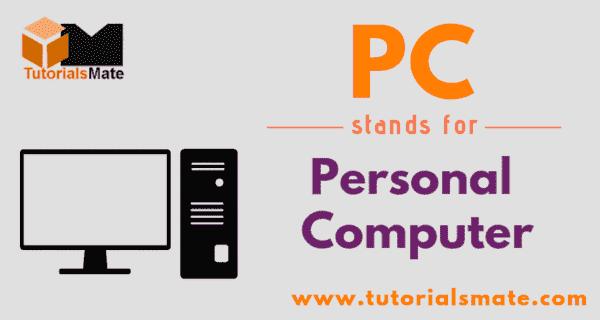 PC Full Form