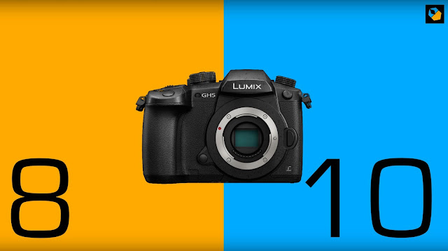 Thoughts on comparing 8-bit and 10-bit footage from the Panasonic GH5